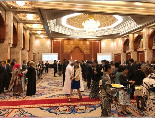 Emperor's Birthday Celebration Reception in Heisei 30th organized by Japanese embassy in United Arab Emirates